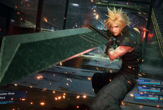 clould – ff7 remake